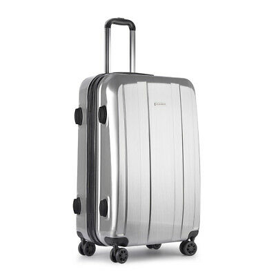 Wanderlite 28'Suitcase Hard Case Luggage Carry On Bag w Wheels Secure Lock 100L