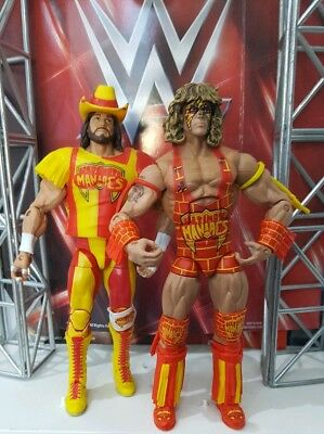 Wwe Mattel Series Elite Defining Moments Ultimate Warrior Macho Man Maniacs Pack