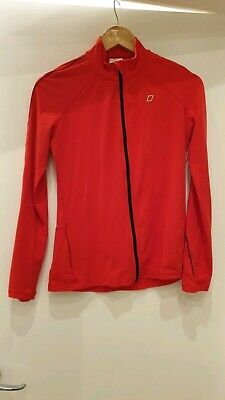 Lorna Jane Running Jacket - Long Sleeve - Bright Red with pocket