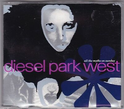 DIESEL PARK WEST ~All the myths on Sundays~ 4 track CD single~ 1989  FOOD17
