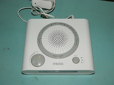 Homedics Sound Spa Night Light Timer SS-1500-2 10 Different Sounds - Tested