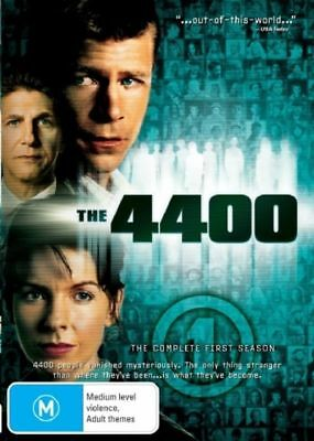 The 4400 : Season 1 (DVD, 2005, 2-Disc Set) REGION-4- NEW-FREE POST AUS-WIDE