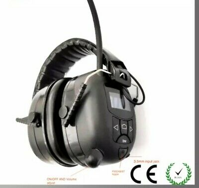 Radio/Bluetooth Ear Defenders Protectors Muffs FREE 3.5 AUX CABLE