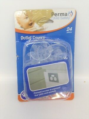 Perma Child Safety 24-Pack Outlet Protective Covers