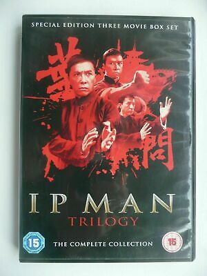 Ip Man Trilogy Donnie Yen Hk Sammo Hung Martial Arts Kung Fu Oop Mike Tyson