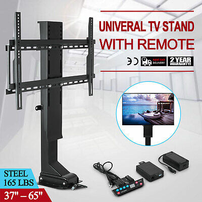 """Univeral 37""""-65"""" TV Stand for LCD LED Plasma Built-in cable Quietly Steel HOT"""