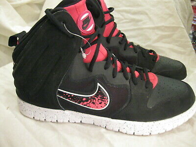 cheap for discount 6ac2e cc797 NEW - NIKE Dunk Free Trainer Basketball Black Vivid Pink Men s Size 12 SHOES
