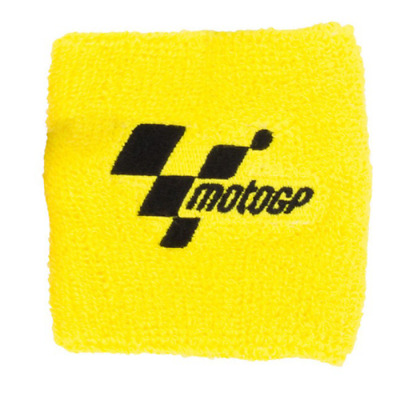 Moto GP Official Motorcycle Brake Reservoir Shroud Cover Yellow