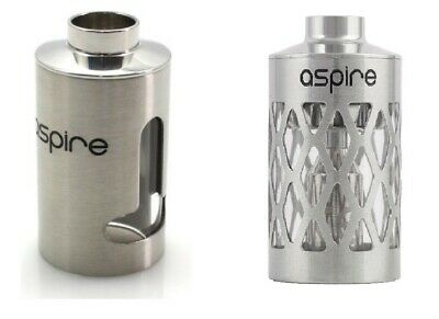 Aspire® Nautilus™ Stainless Steel Tank Section Sleeve UK STOCK - TPD Compliant