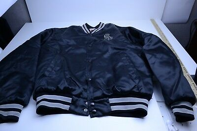 f4eeb82f12ab VINTAGE 1990S SWINGSTER Chicago White Sox Stain Jacket Size Large ...