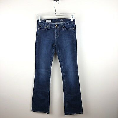 56b549821aa AG Adriano Goldschmied Womens Size 25 R The Angelina Petite Boot Cut Denim  Jeans