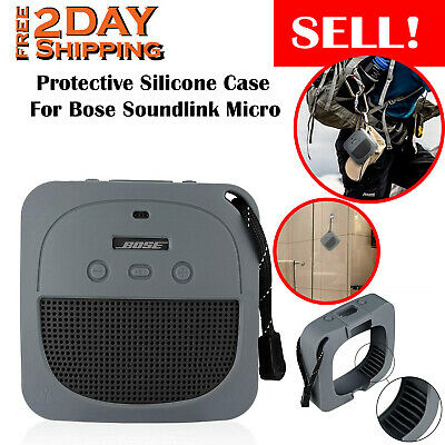 Protective Silicone Case For Bose Soundlink Micro Portable Waterproof Bluetooth