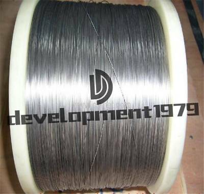 "Tungsten // wolfram wire 0.8 mm * 2 m 0.032/"" 99.95/% Pure. 6,5/'"