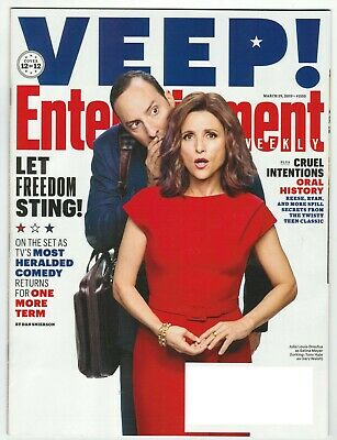 Entertainment Weekly - March 29, 2019  #1555 - VEEP! - Collector Cover #12