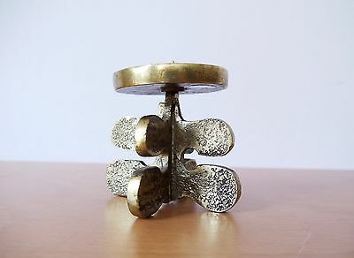 VINTAGE MID CENTURY MODERN 1960s BRUTALIST CANDLESTICK BY GIUSEPPE GALLO