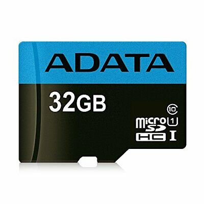 ADATA 32GB High Capacity Micro SD Card with SD Adapter Class 10