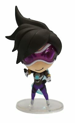 CUTE BUT DEADLY Overwatch Electric Purple Tracer Figurine - Loot Crate  Exclusive
