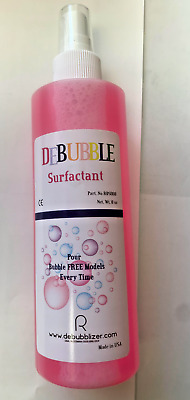 DeBubblizer Surfactant, 8oz (236ml) spray Bottle Made in USA - Dental