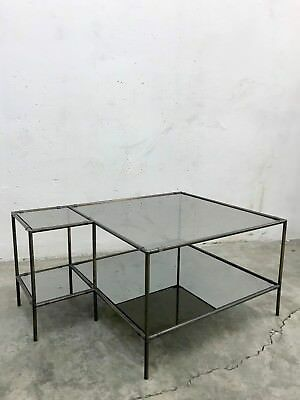 VINTAGE MODERNIST 70s COFFEE TABLE SHELVES DISPLAY STAND POUL CADOVIUS ABSTRACTA