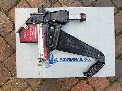 Powernailer floor board nailer 45R multi blow ratchet, steel case