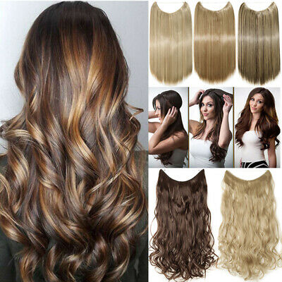 Hidden Halos Invisible Wire Real Thick Secret Miracle As Human Hair Extensions