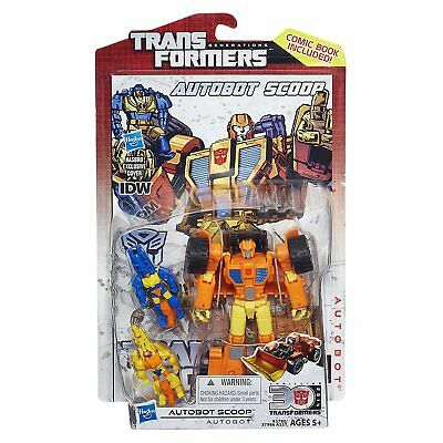 2014 Transformers Generations 30th SCOOP IDW Comic series new