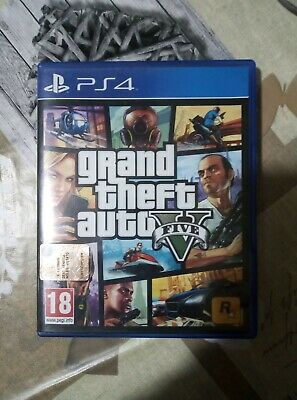 Grand Theft Auto 5 On PlayStation 4 - PS4 - GTA5