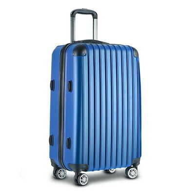 Wanderlite 28' ABS Suitcase Hard Case Luggage Carry On Bag Wheels Secure Lock