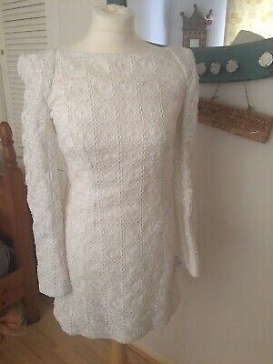 Stunning Vintage Style Dress French Connection New With Tags RRP £165