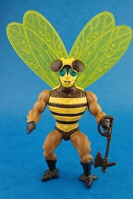 Vintage Action Figure MASTERS OF THE UNIVERSE - BUZZ OFF Complete 1983 Bee Toy