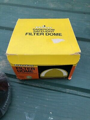 Photax Filter Dome Type B for Darkroom Safelight - Unopened and Boxed
