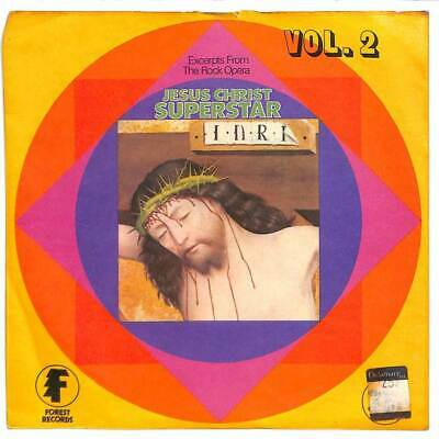 "Alan Caddy Orchestra - Excerpts From Jesus Christ Superstar Vol. II - 7"" Record"