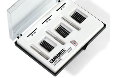 Nordin Carbonite Kit: 18 Posts, 6 each of size #2, #3 & #4 post + 3 Reamers.