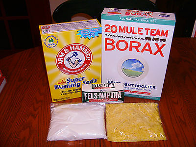 5 Gallon Handmade Laundry Soap Kit