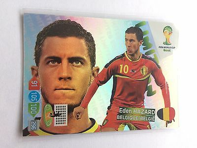 Panini Adrenalyn Road to World Cup 2018-le17-Eden Hazard-Limited Edition