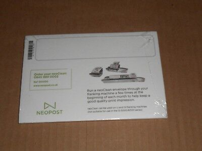 Franking Machine NeoClean Envelopes Sealed Pack from Neopost for IJ IS machines
