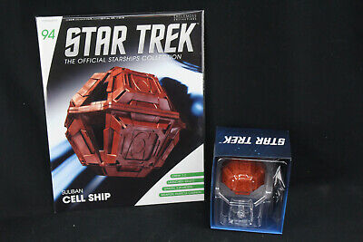 Eaglemoss Star Trek Official Starships Collection #94 Suliban Cell Ship w/Mag