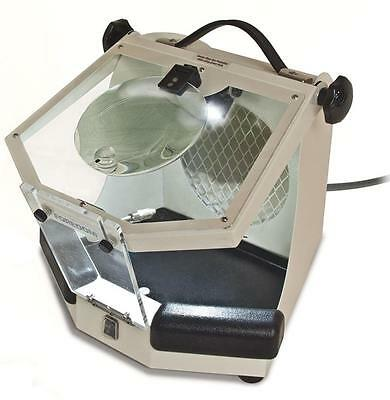 Foredom-Malc15-Work-Chamber-Lighted-Enclosure-Hood-For-A-Dust-Collector-110-220