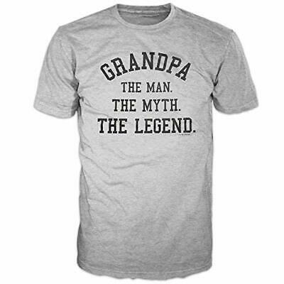 Grandpa, The Man The Myth The Legend Father's Day Gift Men's Funny T-Shirt