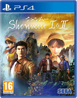 Ps4-Shenmue I & Ii (Ps4) GAME NUEVO