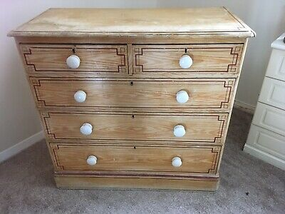 1920's Pine Chest Of Drawers.