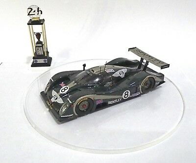 BENTLEY EXP SPEED 8 #8  Le Mans 2001 Built Monté Kit 1/43 no spark minichamps