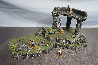 HANDCRAFTED WARGAME TERRAIN Scenery Stackable Ruin Large