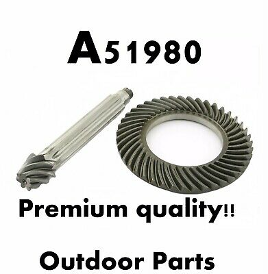 A51980 PREMIUM QUALITY PARTSCase Backhoe Ring & Pinion New 580C 580D