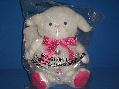 Avon Lamb Sheep Light-Up Pal Easter Sheep with Changing Lights NIP