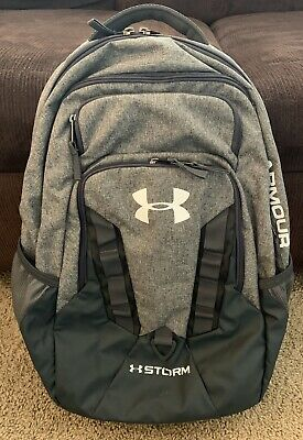 87fdd51f4ce UNDER ARMOUR STORM Recruit Backpack, Black (001)/ Silver, One Size ...