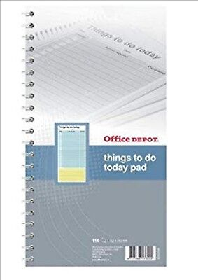 Office Depot Things To Do Pad Things to do 80gsm Ruled 50 114 pages 152 x 280mm