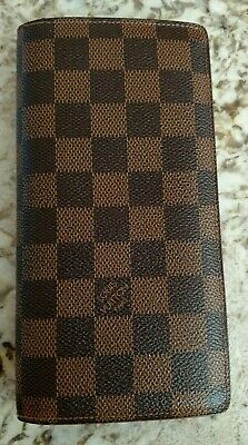 8c02ae1c7588 LOUIS VUITTON BRAZZA Wallet In Black Epi Leather! Mint! Used 2X Only ...