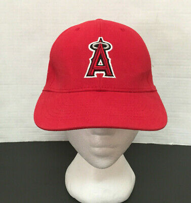 huge discount bad75 6c0b2 Los Angeles Angels MLB Baseball Red Hat  cap Snapback