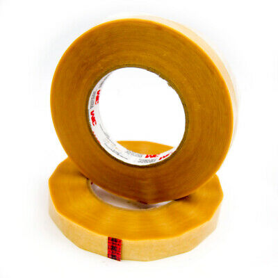 """0.5/"""" width x 72yd length 3M 56 Yellow Polyester Film Electrical Tape 1 roll"""